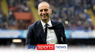 Massimiliano Allegri re-appointed as Juventus manager after Andrea Pirlo sacking