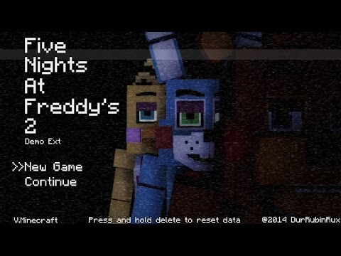 Minecraft FNAF 2 |Игра по сети《сами строили》