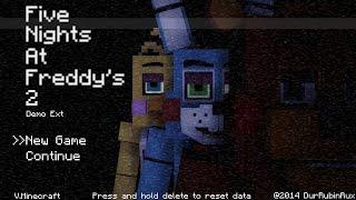 Minecraft FNAF 2 Игра по сетисами строили