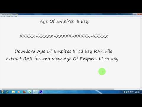 Age Of Empires III  CD Key