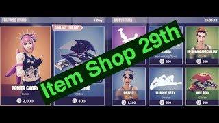 August 29th Item Shop Fortnite battle Royale