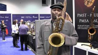 Hyson Music Presents James Carter for P. Mauriat PMB-300UL - NAMM 2012