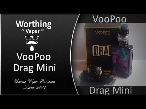 VooPoo Drag Mini Kit Reviewed - Can a Scaled Down Version of the