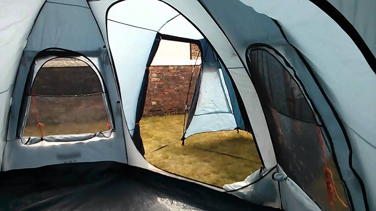 & Vango Diablo 600 XP tent. - YouTube