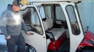 Curtis Enclosure on 2009 Yamaha Drive Gas Golf Cart