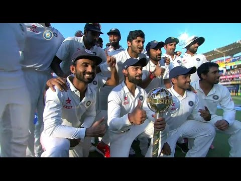 India awarded ICC Test Championship Mace