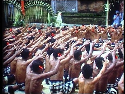 Bali enchanting kecak dance in 1966