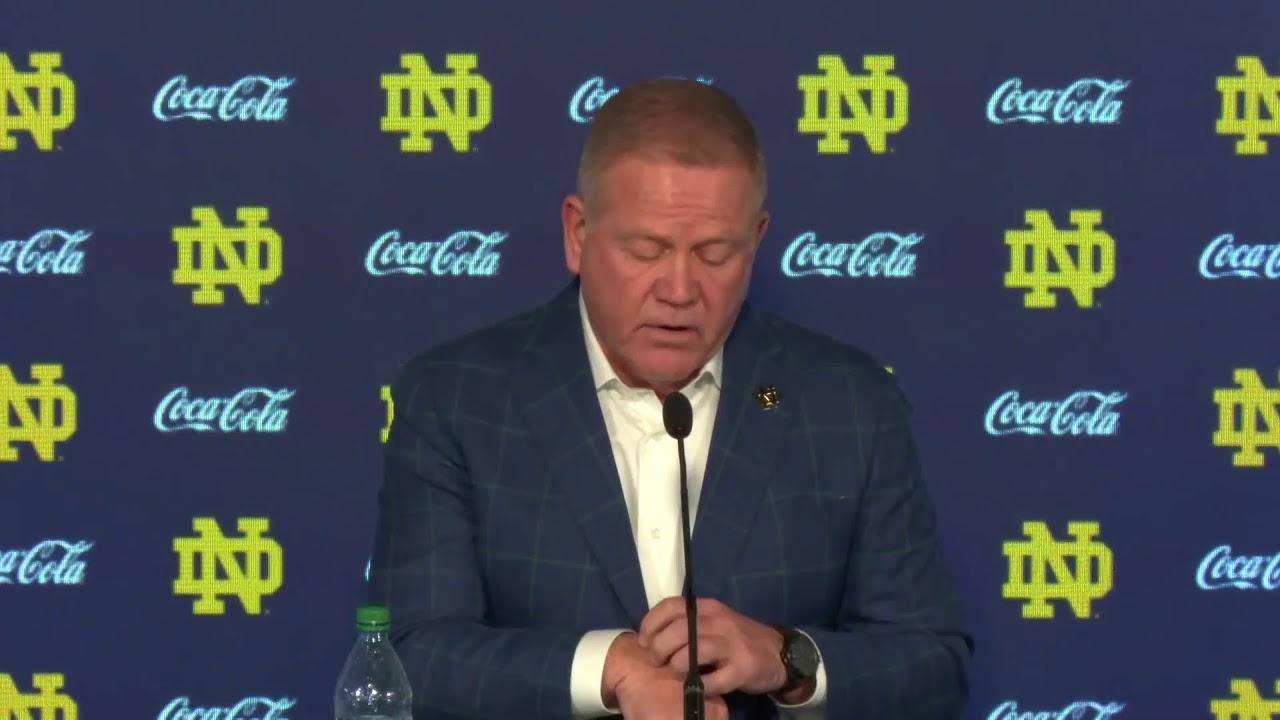 @NDFootball | Brian Kelly Press Conference (10.26.20)