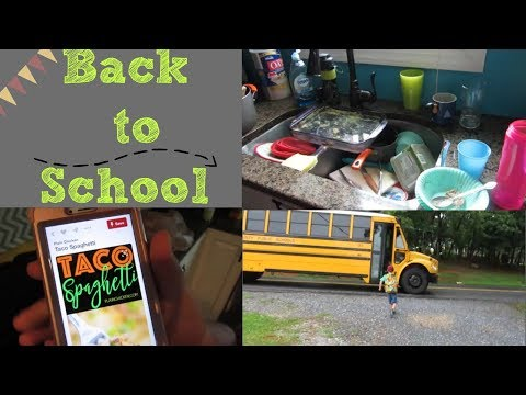 First Day of School | Back to our Schedule!