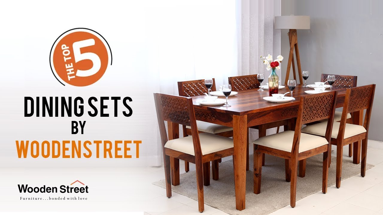 Dining Table Set Top 5 Dining Table Set Designs At Wooden Street Youtube