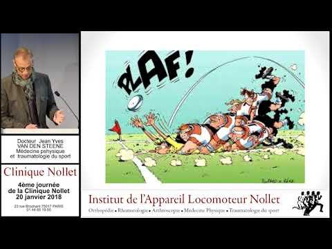 Docteur VAN DEN STEENE Jean Yves - Pathologie de l'adolescent et rugby