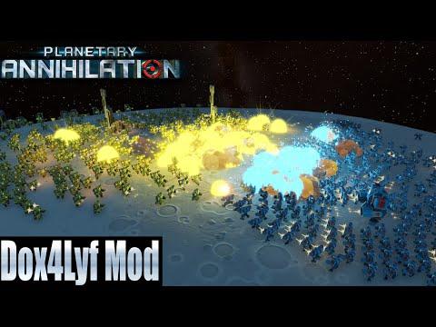 Planetary Annihilation  10 Player FFA - Dox4Lyf Mod!