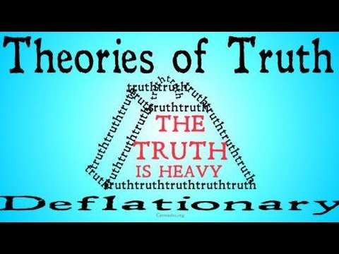The Deflationary Theory of Truth