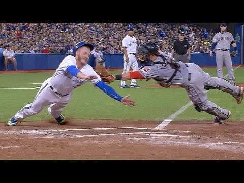 Donaldson scores with great slide on sac fly