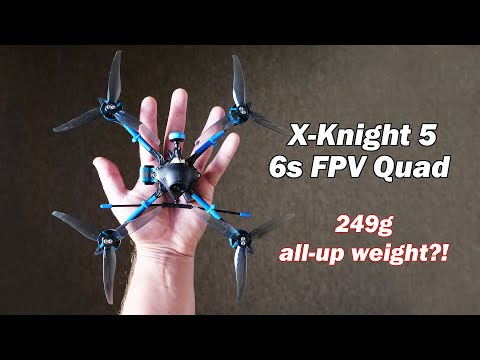 "Фото The lightest 6s 5"" FPV quad in the world? - X-Knight 5 by BetaFPV"