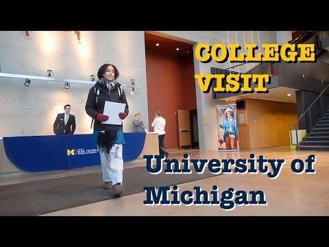 College Visit: University of Michigan