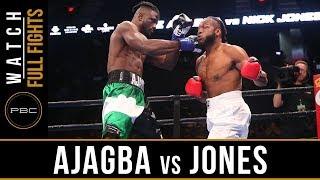 Ajagba vs Jones Full Fight: September 30, 2018 - PBC on FS1