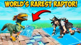 THE *SMARTEST* RAPTOR IN FORTNITE!! - Fortnite Funny Fails and WTF Moments! 1230