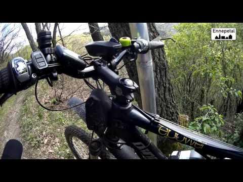 Mit dem E-Bike bei Superwetter steil rauf zum Hohenstein in Ennepetal 6.5.2017