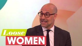 Stanley Tucci On UK Living   Loose Women