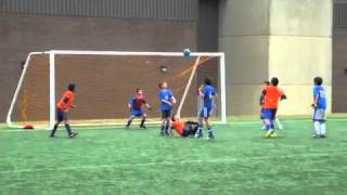 13 Years Old Kid Scores Amazing Bicycle Kick Goal