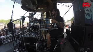 "Alex Lopez Suicide Silence ""Unanswered"" Live"