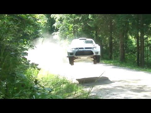 Neste Oil Rally WRC Test Finland 2014, Sebastian Ogier Volkswagen Polo R WRC