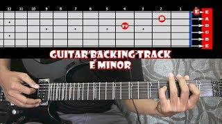 E Minor Inspirational Soft Guitar Backing Track Extended Edition | 112 BPM