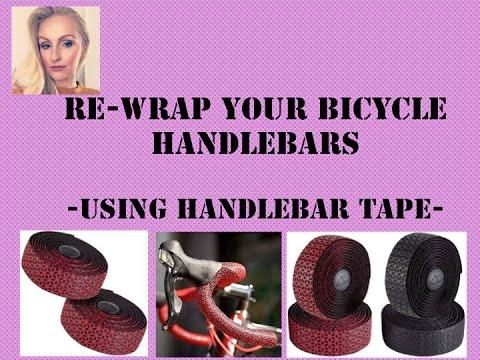How to Re Wrap your Bike Handles/ Wrap Bicycle Bars/ Bicycle Handlebar Tape DIY Tutorial/ Road Bike