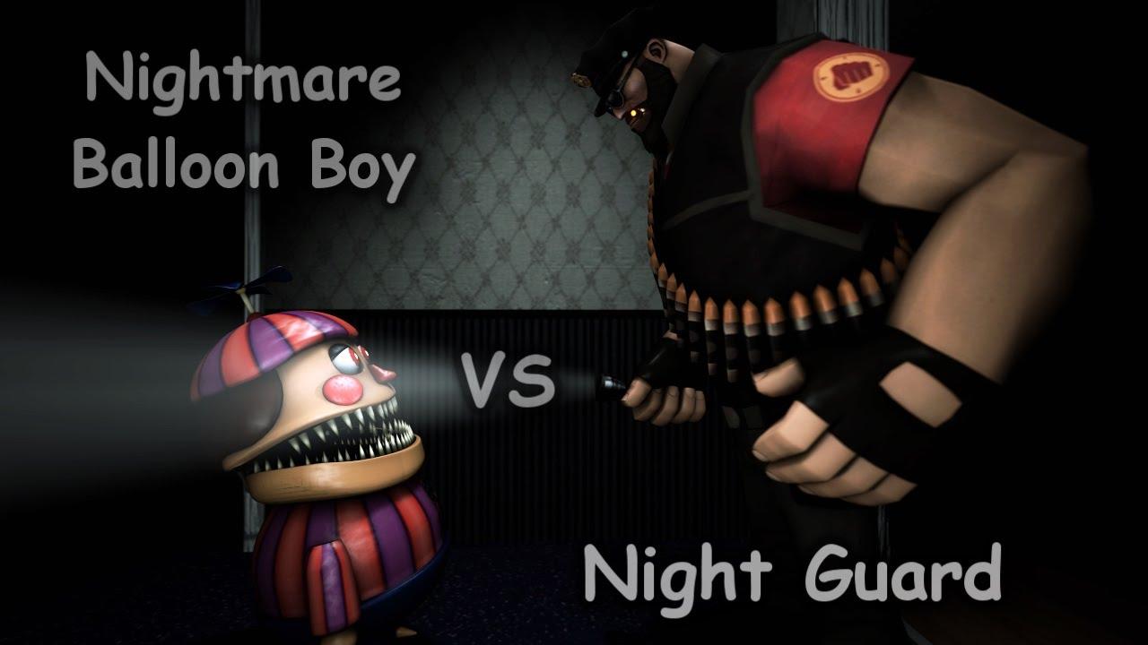Girl Generation Wallpaper Hd Sfm The New Night Guard Vs Nightmare Balloon Boy Hd