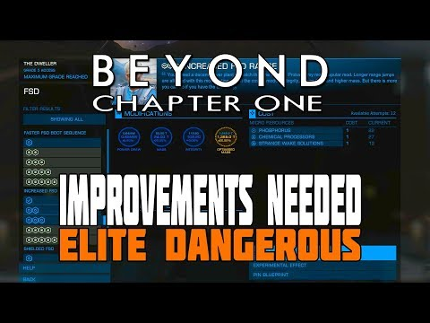 Elite Dangerous Beyond - New Engineer System: A Great Improvement but with Significant Flaws