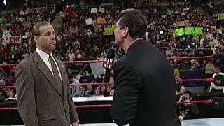 Mr. McMahon fires Shawn Michaels