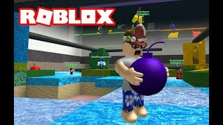 Old Man plays ROBLOX Super Bomb Survival with PVTLawman
