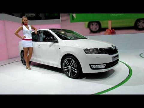 2013 Skoda Rapid TSI - Exterior - 2012 Paris Auto Show - 2012 Mondial de L'Automobile