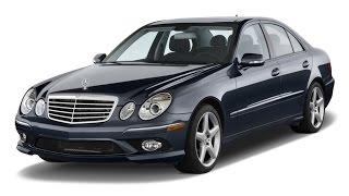 Замена лобового стекла на Mercedes-Benz Е-класса в Казани.