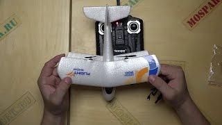 Обзор Радиоуправляемого Микро Самолета The Glider Aircraft От Transjoy Часть 1 - Распаковка