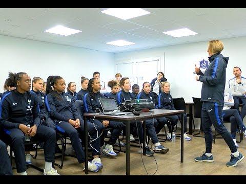 Equipe de France U17 féminine : jour de match