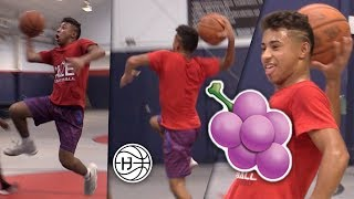 Julian Newman Shows OFF CRAZY JELLY Package!!! INSANE Dribbling and Shooting Workout!