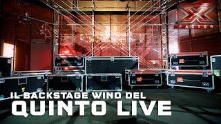 Wind: il backstage del quinto Live Show