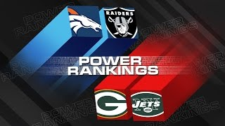 Power Rankings (Week 9) | Are The Raiders a Top 10 Team? | NFL Now
