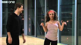 Pasha Kovalev and Chelsee Healey - First Rehearsal - Strictly Come Dancing 2011 - BBC One