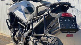 Pannier Racks Installation - Triumph Tiger 900 #outbackmotortek #triumphtiger900