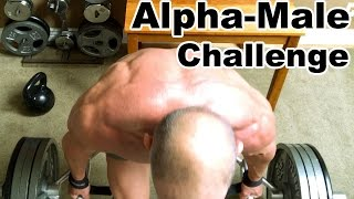 Alpha male challenge,  4hr leg workout!