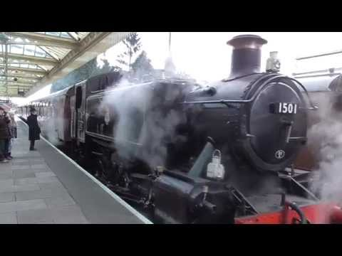 Great Central Railway - Winter Steam Gala 2015 - Loughborough Central Station