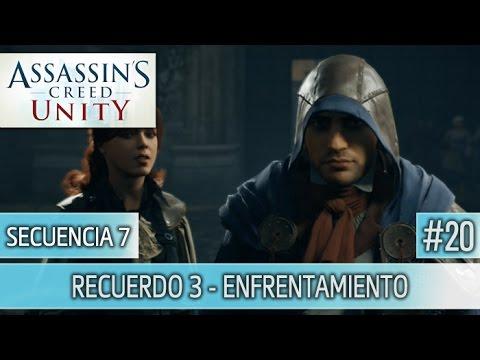 Assassin's Creed Unity - Guia Walkthrough - Secuencia 7 - Enfrentamiento al 100% | Español