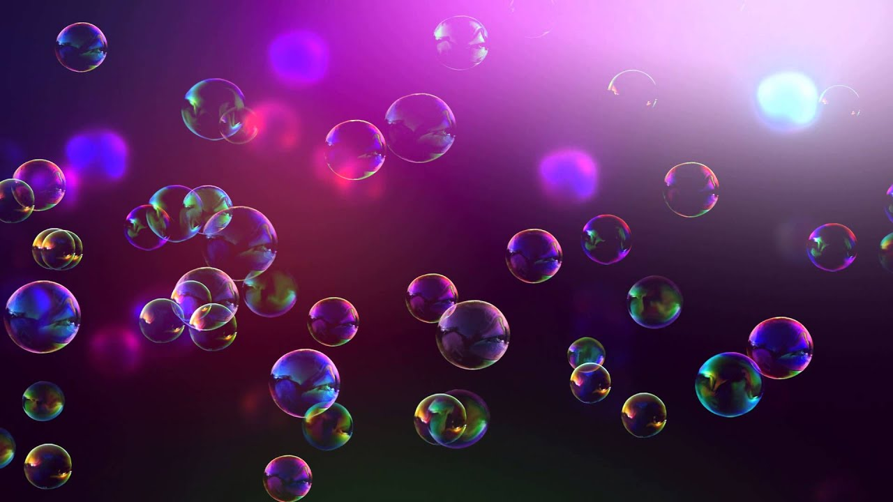 Bubbles Background - YouTube