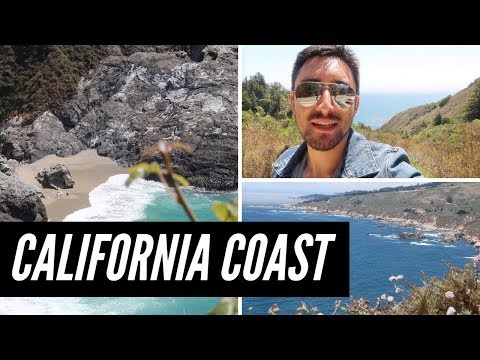California Road Trip VLOG | Pacific Coast Highway - Big Sur - Monterey