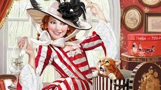 """179 Вышивка по авторской схеме """"Меняю шляпку на кота"""": подготовка и начало"""