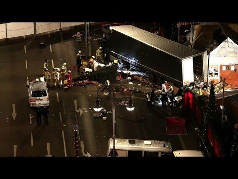 Eyewitnesses recount horror of Berlin Christmas market attack