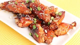 Baked Honey Teriyaki Wings Recipe - Laura Vitale - Laura In The Kitchen Episode 904